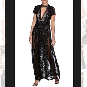 NWT Olivaceous Victoria Maxi Dress XS